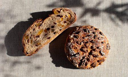 pain aux fruits secs